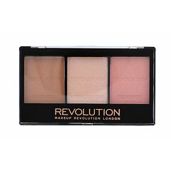 Tvářenka Makeup Revolution London Ultra Sculpt & Contour Kit 11 g C01 Ultra Fair