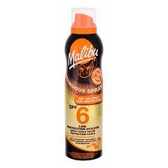 Opalovací přípravek na tělo Malibu Continuous Spray Dry Oil SPF6 175 ml