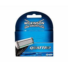 Náhradní břit Wilkinson Sword Quattro 4 ks