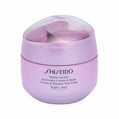 Noční pleťový krém Shiseido White Lucent Overnight Cream & Mask 75 ml