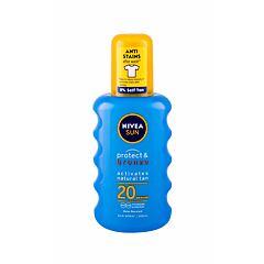 Opalovací přípravek na tělo Nivea Sun Protect & Bronze Sun Spray SPF20 200 ml