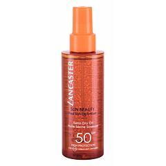 Opalovací přípravek na tělo Lancaster Sun Beauty Dry Oil SPF50 150 ml