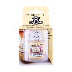 Vůně do auta Yankee Candle Vanilla Cupcake Car Jar 1 ks