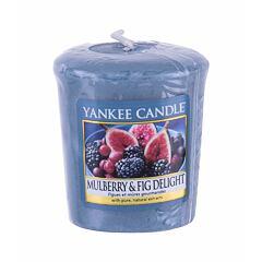 Vonná svíčka Yankee Candle Mulberry & Fig Delight 49 g