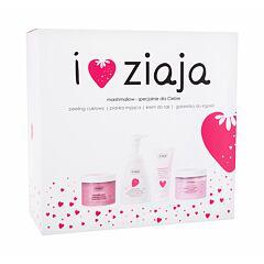 Tělový peeling Ziaja I ♥ Ziaja Marshmallow 300 ml Kazeta