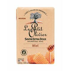 Tuhé mýdlo Le Petit Olivier Honey Extra Mild Soap 250 g