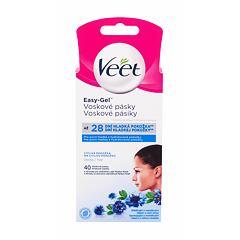 Depilační přípravek Veet Easy-Gel™ Wax Strips Sensitive Skin 40 ks