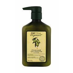 Gel na vlasy Farouk Systems CHI Olive Organics Styling Glaze 340 ml