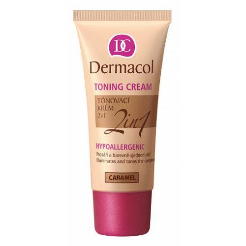 Dermacol Toning Cream 2in1 bb krém 30 ml pro ženy