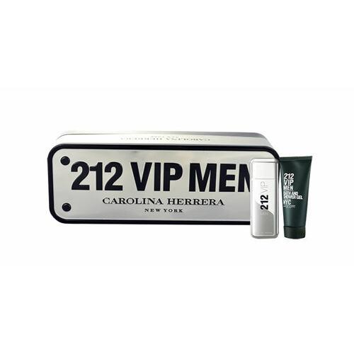 Carolina Herrera 212 VIP Men EDT EDT 50 ml + sprchový gel 100 ml pro muže