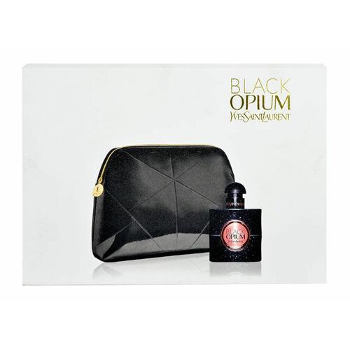 Yves Saint Laurent Black Opium EDP EDP 30 ml + kosmetická taška pro ženy