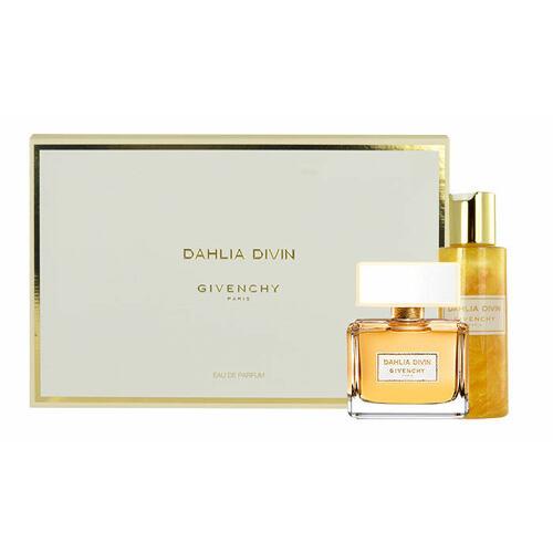 Givenchy Dahlia Divin EDP EDP 75 ml + tělový gel 100 ml + oční stíny Ombre Couture 12 4 g pro ženy