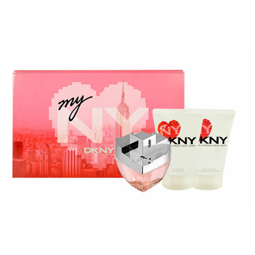 DKNY DKNY My NY EDP EDP 100 ml + tělové mléko 100 ml + sprchový gel 100 ml pro ženy