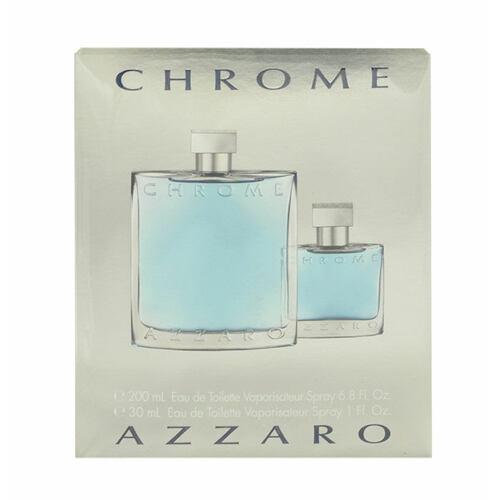 Azzaro Chrome EDT EDT 200 ml + EDT 30 ml pro muže