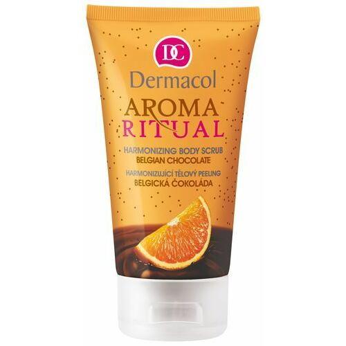 Dermacol Aroma Ritual Belgian Chocolate tělový peeling 150 ml pro ženy