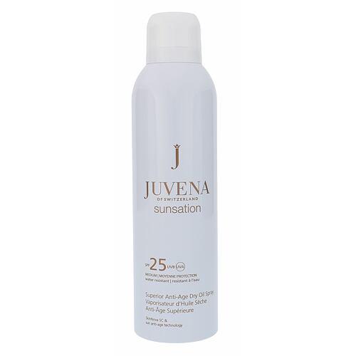 Juvena Sunsation Superior Anti-Age Dry Oil Spray SPF25 opalovací přípravek na tělo 200 ml pro ženy