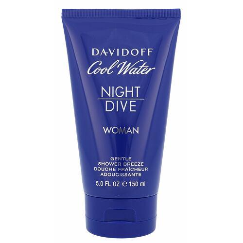 Davidoff Cool Water Night Dive Woman sprchový gel 150 ml pro ženy