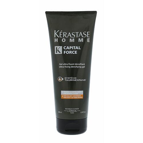 Kerastase Homme Capital Force gel na vlasy 200 ml pro muže