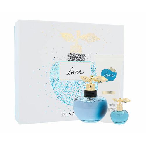 Nina Ricci Luna EDT EDT 80 ml + EDT 4 ml + tělové mléko 100 ml pro ženy