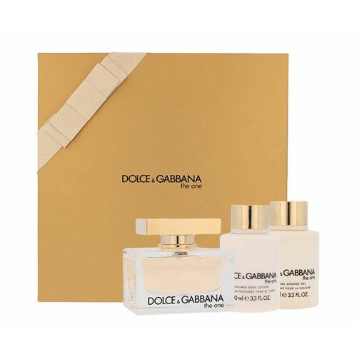 Dolce&Gabbana The One EDP EDP 75 ml + tělové mléko 100 ml + sprchový gel 100 ml pro ženy