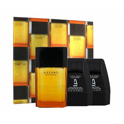 Azzaro Azzaro Pour Homme EDT EDT 100 ml + sprchový gel 75 ml + balzám po holení 75 ml pro muže