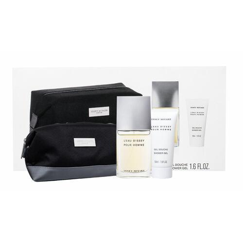 Issey Miyake L´Eau D´Issey Pour Homme Fraiche EDT EDT 50 ml + sprchový gel 50 ml + kosmetická taška pro muže