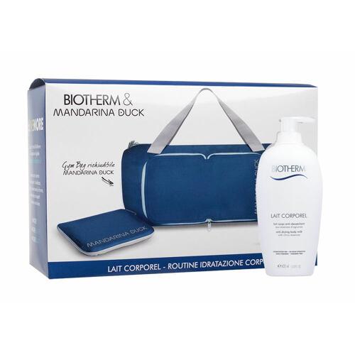 Biotherm Lait Corporel tělové mléko tělové mléko Lait Corporel Anti Drying Body Milk 400 ml + skládací taška Poškozená krabička pro ženy