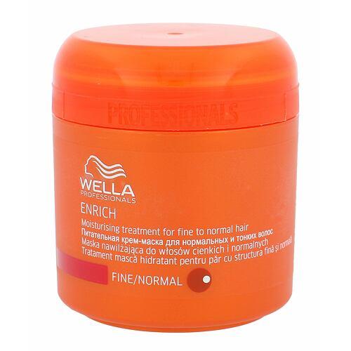 Wella Enrich Normal Hair maska na vlasy 150 ml pro ženy