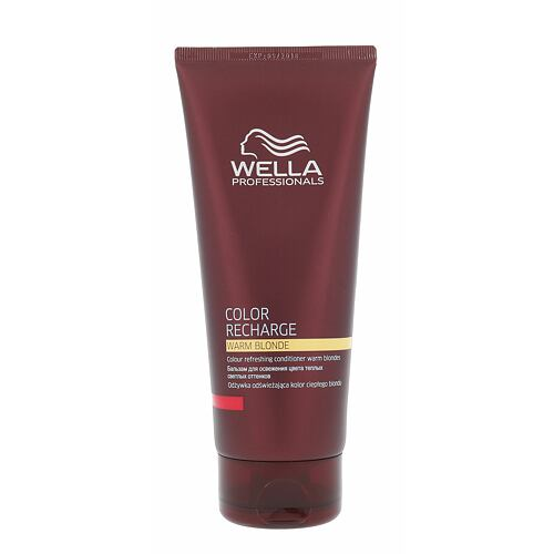 Wella Color Recharge Warm Blonde kondicionér 200 ml pro ženy