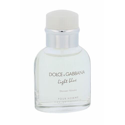 Dolce & Gabbana Light Blue Discover Vulcano Pour Homme EDT 40 ml Poškozená krabička pro muže