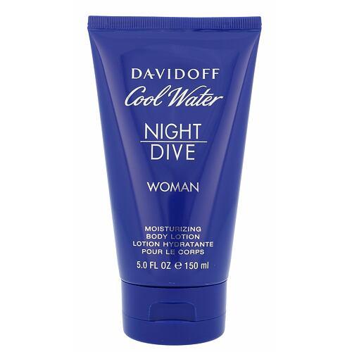 Davidoff Cool Water Night Dive tělové mléko 150 ml Poškozená krabička pro ženy