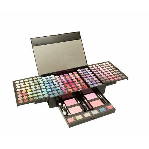 Makeup Trading Mega Dressing Table dekorativní kazeta Complete Makeup Palette Poškozená krabička pro ženy