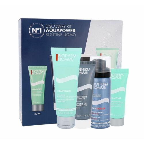 Biotherm Homme Aquapower Oligo Thermal Care denní pleťový krém dárková kazeta pro muže