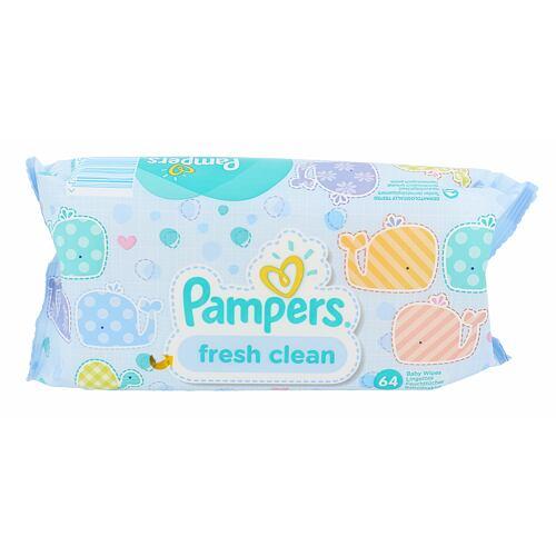 Pampers Baby Wipes Fresh Clean čisticí ubrousky 64 ks Unisex