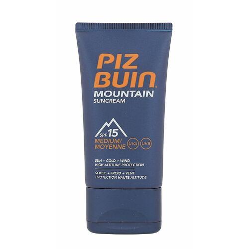Piz Buin Mountain opalovací přípravek na obličej 40 ml Unisex