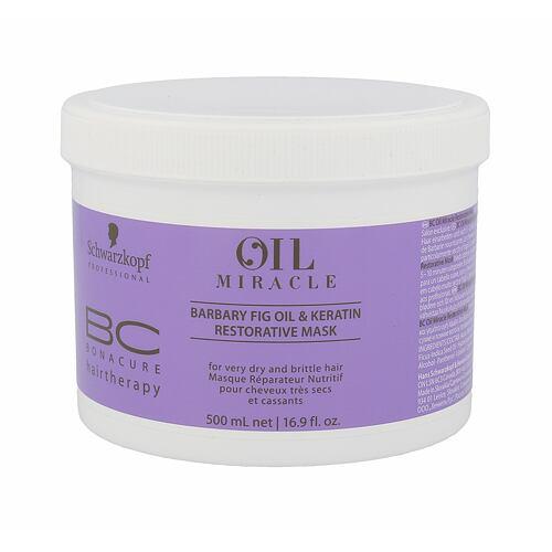 Schwarzkopf BC Bonacure Oil Miracle Barbary Fig & Keratin maska na vlasy 500 ml pro ženy