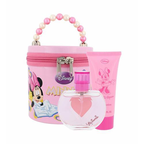 Disney Minnie Mouse EDT EDT 50 ml + tělové mléko 60 ml + plechová krabička Poškozená krabička Unisex