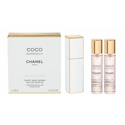 Chanel Coco Mademoiselle EDP 20 ml Poškozená krabička Twist and Spray pro ženy