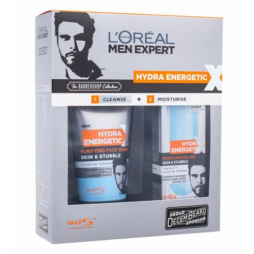 L´Oréal Paris Men Expert Hydra Energetic čisticí pěna dárková kazeta Poškozená krabička pro muže