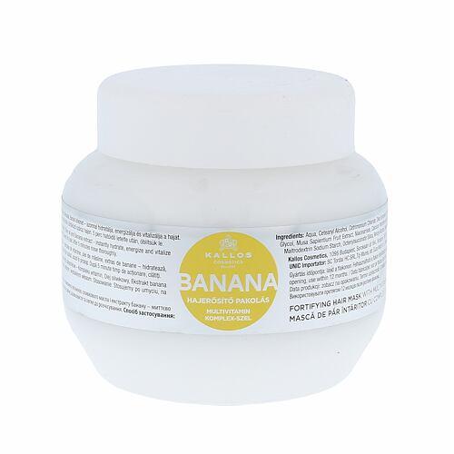 Kallos Cosmetics Banana maska na vlasy 275 ml pro ženy