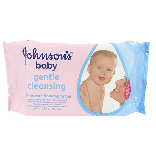 Johnson´s Baby Gentle Cleansing čisticí ubrousky 56 ks Unisex