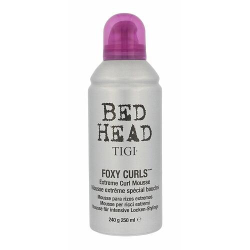 Tigi Bed Head Foxy Curls Extreme Curl Mousse tužidlo na vlasy 250 ml Poškozený flakon pro ženy