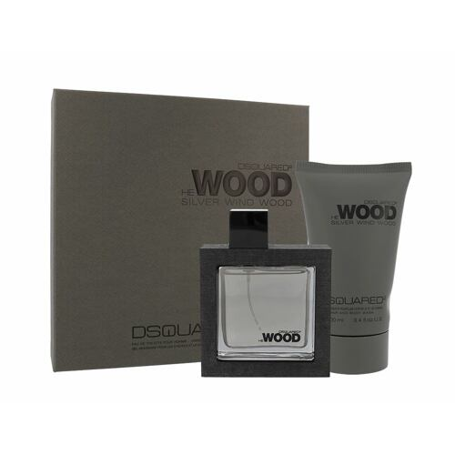 Dsquared2 He Wood Silver Wind Wood EDT EDT 50 ml + sprchový gel 100 ml pro muže