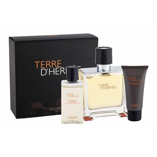 Hermes Terre D´Hermes parfém parfém 75 ml + sprchový gel 40 ml + balzám po holení 15 ml pro muže