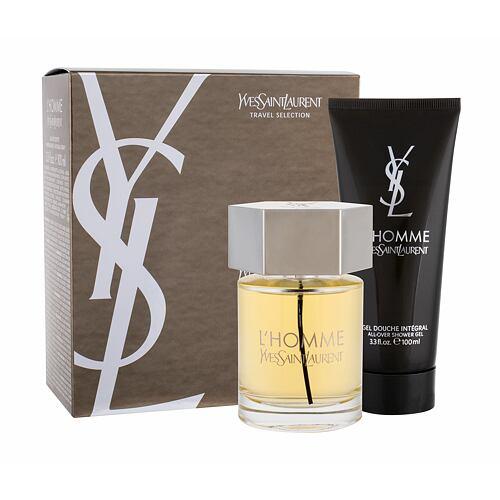 Yves Saint Laurent L´Homme EDT EDT 100 ml + sprchový gel 100 ml pro muže