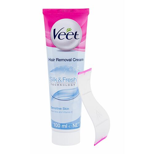 Veet Silk & Fresh Sensitive Skin krém na holení 100 ml pro ženy