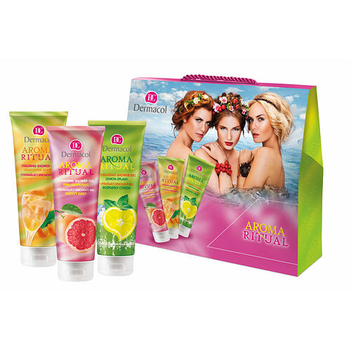 Dermacol Aroma Ritual sprchový gel dárková kazeta pro ženy