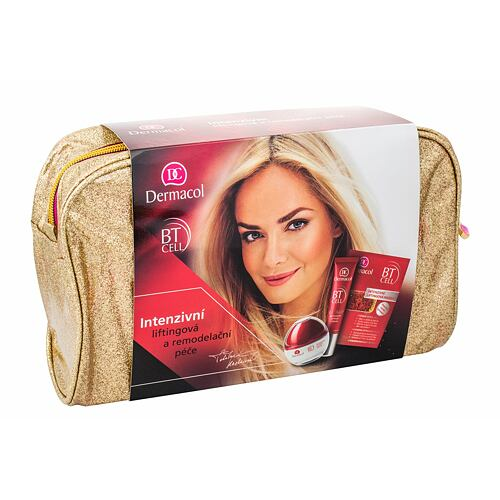 Dermacol BT Cell denní pleťový krém liftingový pleťový krém 50 ml + liftingový krém na oči a rty 15 ml + liftingová pleťová maska 2 x 8 g pro ženy