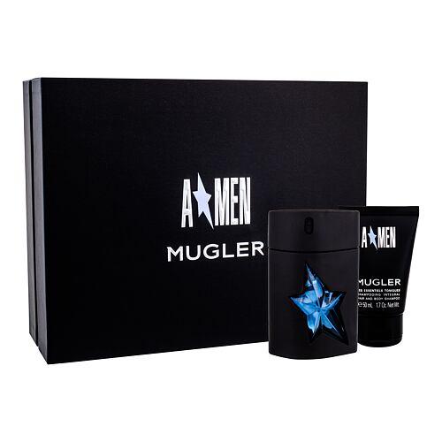 Thierry Mugler A*Men Rubber EDT EDT 50 ml + sprchový gel 50 ml pro muže