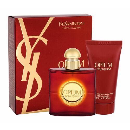 Yves Saint Laurent Opium 2009 EDT EDT 50 ml + tělové mléko 50 ml pro ženy